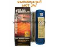Тепла підлога Arnold Rak FH 2130 3м.кв 660W одножильний мат