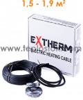 Теплый пол Extherm ETC 20-300 300W двухжильный кабель