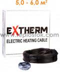 Теплый пол Extherm ETC ECO 20-1000 1000W двухжильный кабель