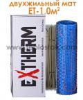 Теплый пол Extherm ET 100-200 1,0м.кв 200W двухжильный мат
