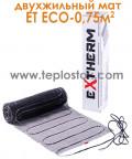 Теплый пол Extherm ET ECO 075-180 0,75м.кв 135W двухжильный мат