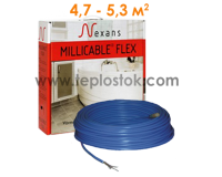 Теплый пол Nexans MILLICABLE FLEX/10  800W