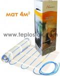 Теплый пол Nexans MILLIMAT/150 600W 4m2 двухжильный мат