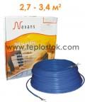 Теплый пол Nexans TXLP/1 500/17 одножильный кабель