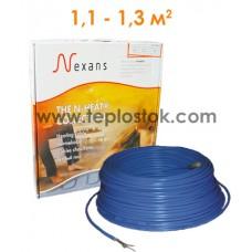 Теплый пол Nexans TXLP/2R 200/17 двухжильный кабель