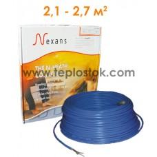 Теплый пол Nexans TXLP/2R 400/17 двухжильный кабель