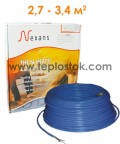 Тепла підлога Nexans TXLP/2R 500/17 двожильний кабель