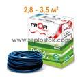 Теплый пол Profi Therm 2 19/530 двухжильный кабель