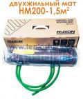 Тепла підлога Ryxon HM-200-1,5 1,5м.кв 300W двожильний мат