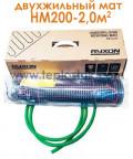 Тепла підлога Ryxon HM-200-2,0 2,0м.кв 400W двожильний мат