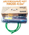 Тепла підлога Ryxon HM-200-4,0 4,0м.кв 800W двожильний мат