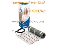 Двухжильный мат DEVImat  150T (DTIF-150) 1800Вт 12м2