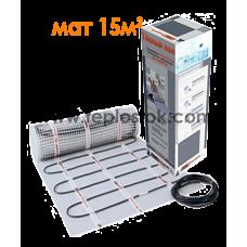 Теплый пол Hemstedt DH 2250W 15m2  двухжильный мат
