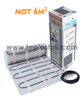 Теплый пол Hemstedt DH 900W 6m2  двухжильный мат