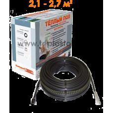 Теплый пол Hemstedt BR-IM 400W двухжильный кабель