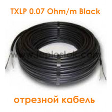 Одножильный отрезной кабель для снеготаяния Nexans TXLP 0.07 Ohm/m Black