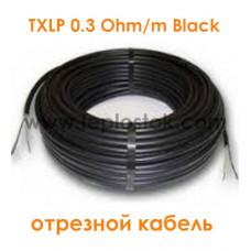Одножильный отрезной кабель для снеготаяния Nexans TXLP 0.3 Ohm/m Black