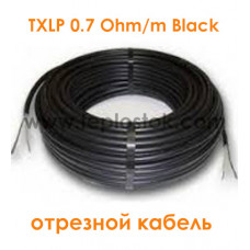 Одножильный отрезной кабель для снеготаяния Nexans TXLP 0.7 Ohm/m Black