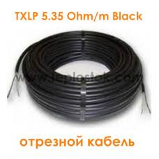 Одножильный отрезной кабель для снеготаяния Nexans TXLP 5.35 Ohm/m Black