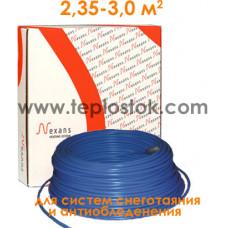 Одножильный кабель для снеготаяния Nexans TXLP/1 900/28
